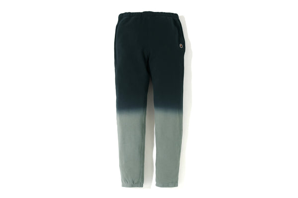BAPE GRADATION SLIM SWEAT PANTS