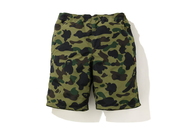 1ST CAMO BEACH SHORTS