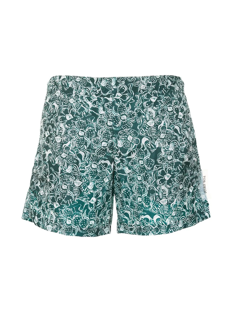 FLORAL SWIMSHORTS