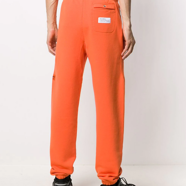 SWEATPANTS OS HERON TECHNO GOLDEN POPPY