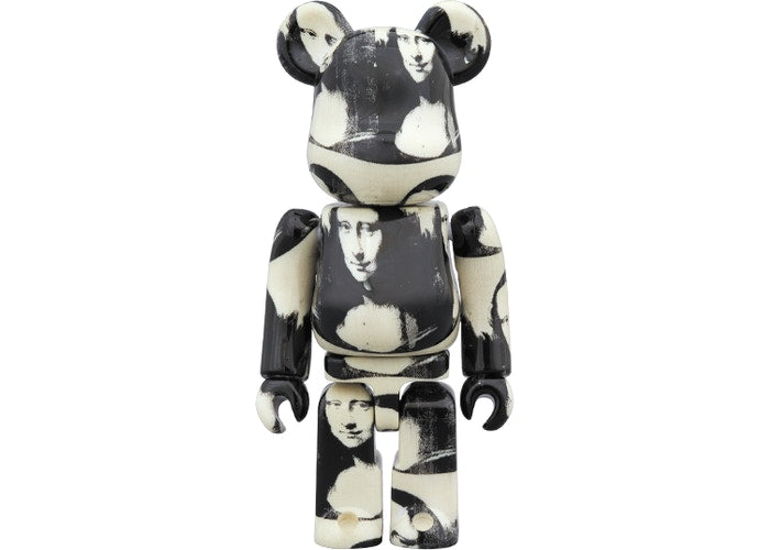 "BE@RBRICK Andy Warhol ""Double Mona Lisa"" 100% & 400% set"