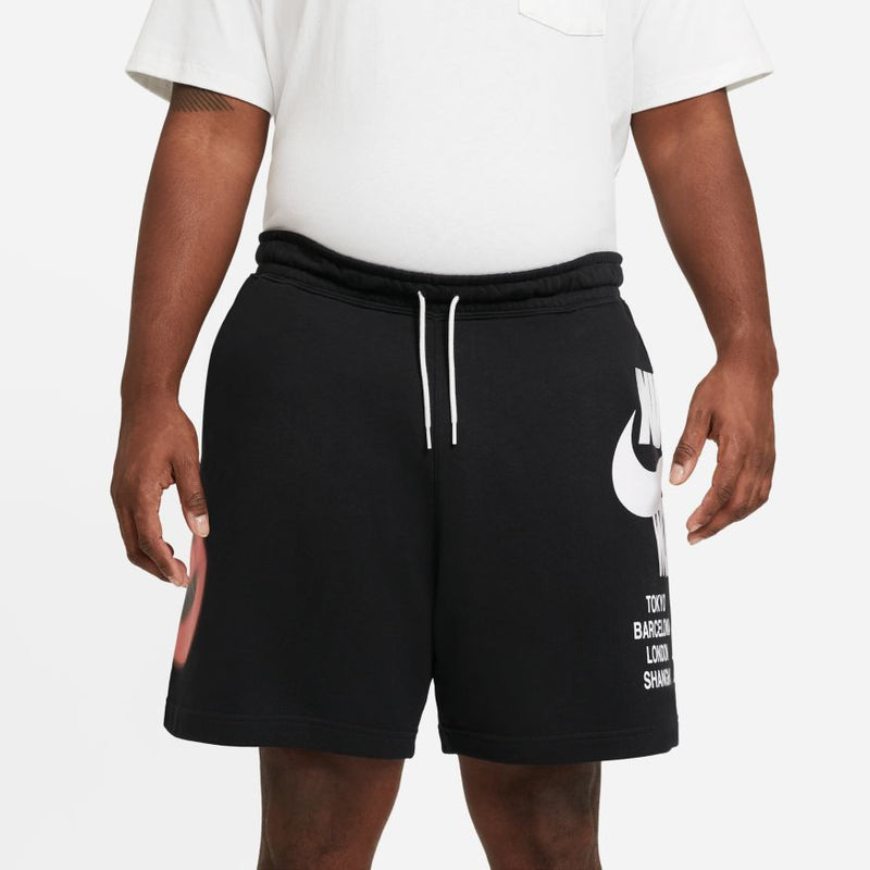Nike Sportswear French Terry Shorts 'World Tour'