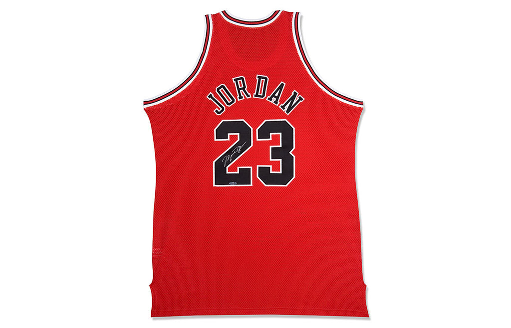 MICHAEL JORDAN SIGNED '97-'98 AWAY JERSEY
