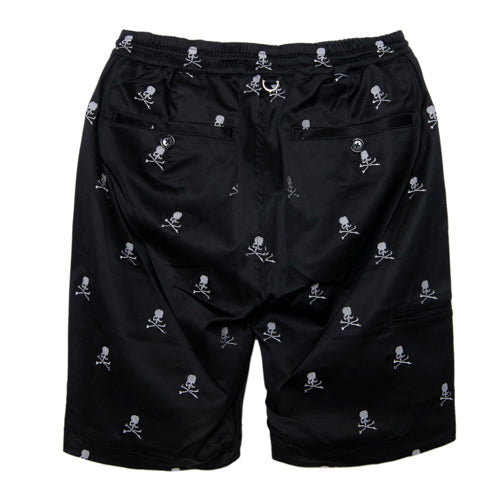 ALLOVER SKULL BEACH SHORTS