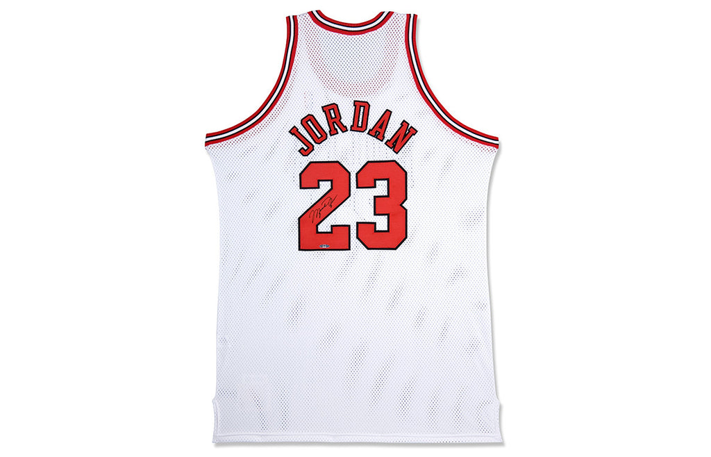 06f388ab5ed MICHAEL JORDAN SIGNED '97-'98 HOME JERSEY – TROPHY ROOM STORE