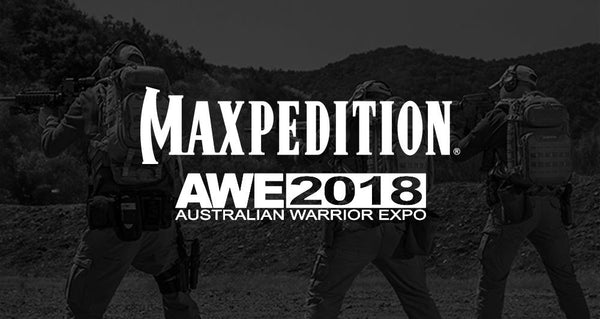 Maxpedition Sponsors 2018 Australian Warrior Expo (AWE2018)