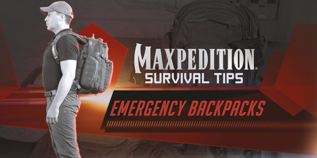 Maxpedition Survival Tips - Emergency Bags With Thomas Coyne