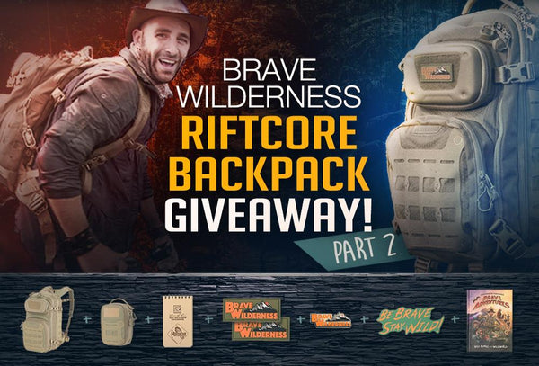 Brave Wilderness Giveaway Part 2! CONTEST CLOSED