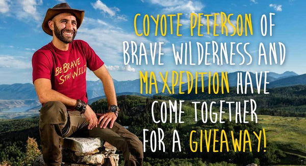 Coyote Peterson Brave Wilderness Riftcore Backpack Giveaway! CONTEST CLOSED