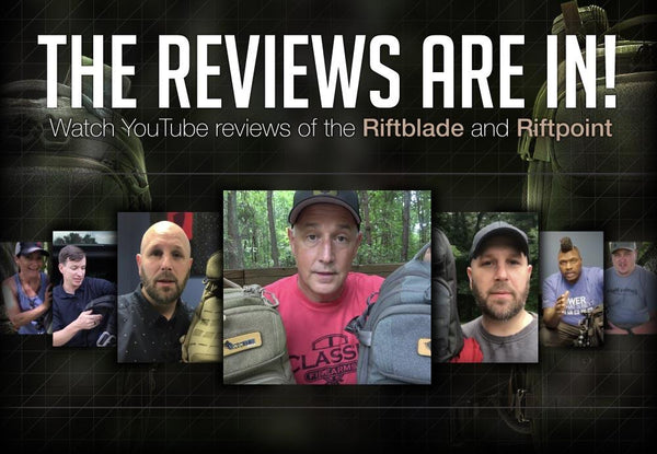 Video Reviews of the Riftblade and Riftpoint Backpacks