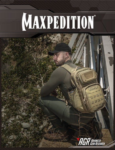 Maxpedition's Urban Adventure Lookbook featuring AGR Advanced Gear Research 2016 product line.
