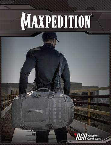 Maxpedition's Urban Adventure Lookbook featuring products from the AGR Advanced Gear Research line.