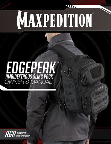 Edgepeak- Maxpedition Owner's Manual