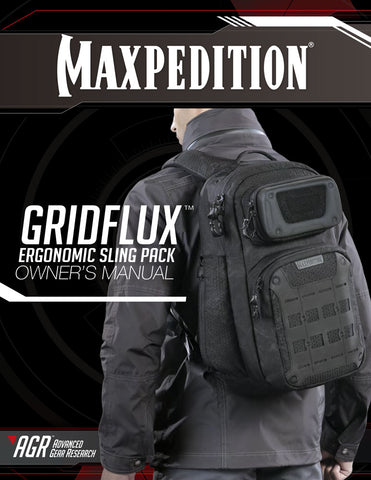 Gridflux Sling pack - Maxpedition Owner's Manual
