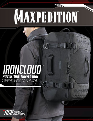 Ironcloud Adventure Travel- Maxpedition Owner's Manual