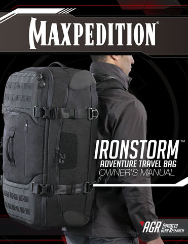 Ironstorm - MAxpedition Owner's Manual