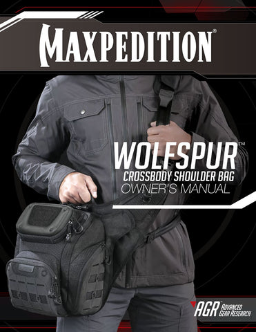 Wolfspur Maxpedition Owner's Manual