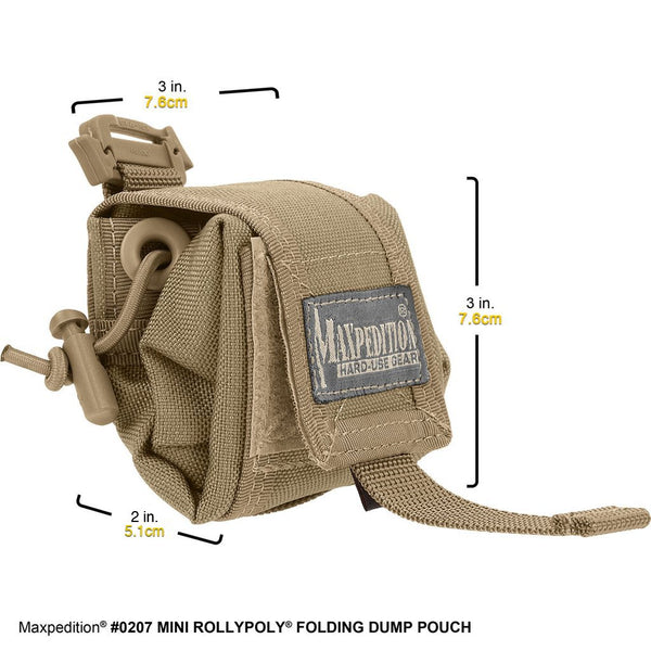 Mini Rollypoly Folding Dump Pouch