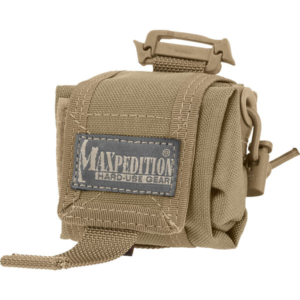 MINI ROLLY POLLY FOLDING POUCH - Military, CCW, EDC, Everyday Carry, Outdoors, Nature, Hiking, Camping, Police Officer, EMT, Firefighter, Bushcraft, Gear, Travel, gun range, magazines