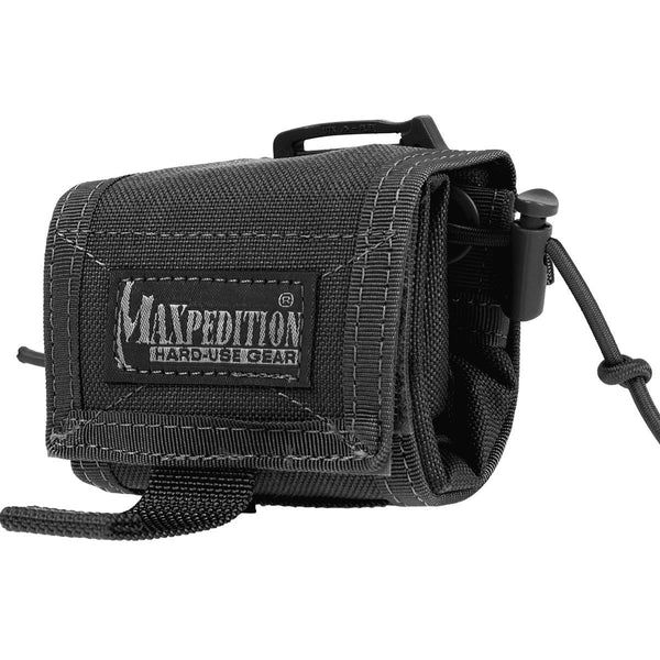 ROLLYPOLY MM FOLDING DUMP POUCH - MAXPEDITION, Military, CCW, EDC, Everyday Carry, Outdoors, Nature, Hiking, Camping, Police Officer, EMT, Firefighter, Bushcraft, Gear, Travel.