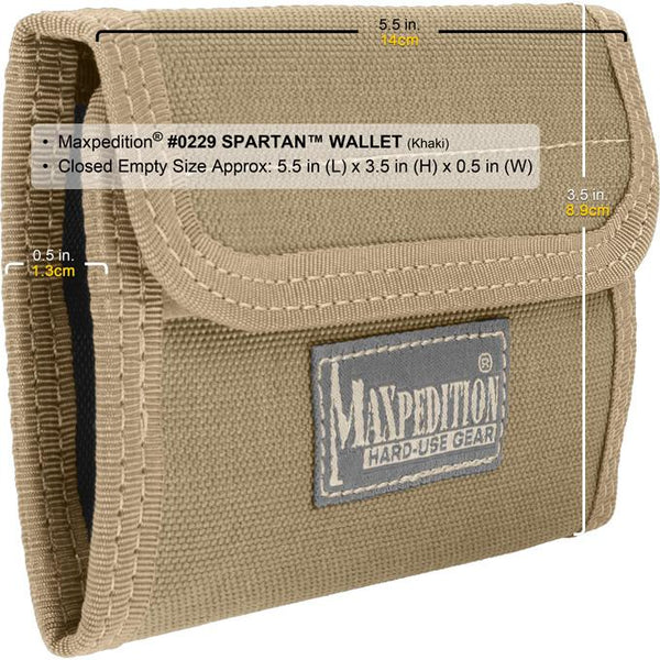 Spartan Wallet- Maxpedition, general purpose, EDC, Everyday Carry, Protection, Safe,Secure, Military, CCW, EDC, Everyday Carry, Outdoors, Nature, Hiking, Camping, Police Officer, EMT, Firefighter, Bushcraft, Gear, Travel.