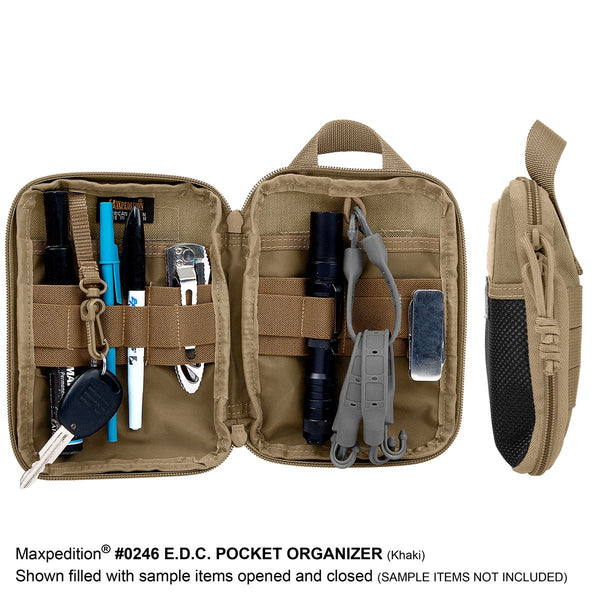 E.D.C. Pocket Organizer (Buy 1 Get 1 Free Pocket Organizer. Mix and Match in Multiples of 2. All Sales Final.)