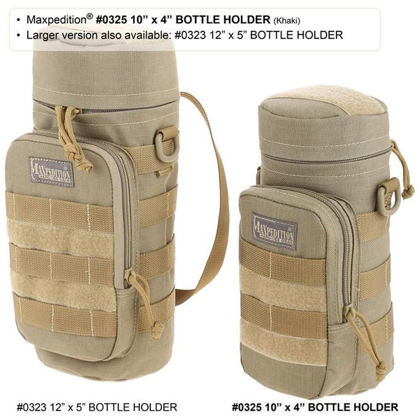 "10"" x 4"" BOTTLE HOLDER - MAXPEDITION"