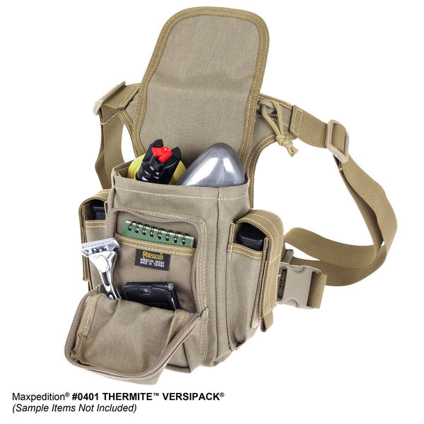 Thermite Versipack- MAXPEDITION, Shoulderbag, Active Shooter Response, CCW, EDC, Everyday Carry, Travel, Carry-on, Tourist, Adventurer, Camping, Hiking, Outdoors