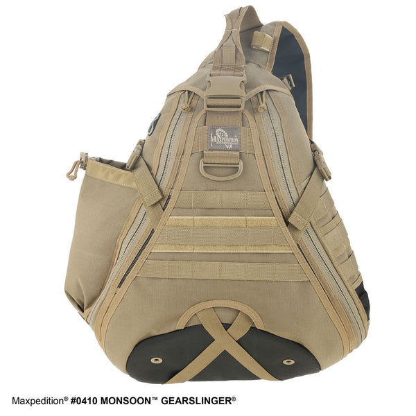MONSOON GEARSLINGER - MAXPEDITION, Backpack, urban,Military, CCW, EDC, Everyday Carry, Outdoors, Nature, Hiking, Camping, Police Officer, EMT, Firefighter, Bushcraft, Gear, Travel