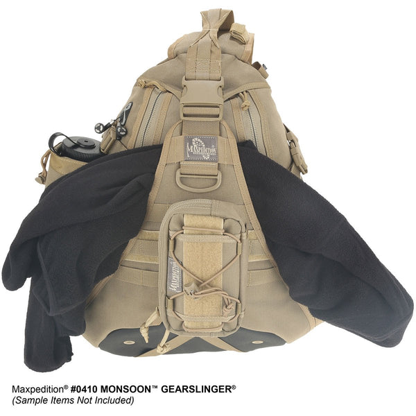 MONSOON GEARSLINGER - MAXPEDITION, Backpack, urban, Military, CCW, EDC, Everyday Carry, Outdoors, Nature, Hiking, Camping, Police Officer, EMT, Firefighter, Bushcraft, Gear, Travel