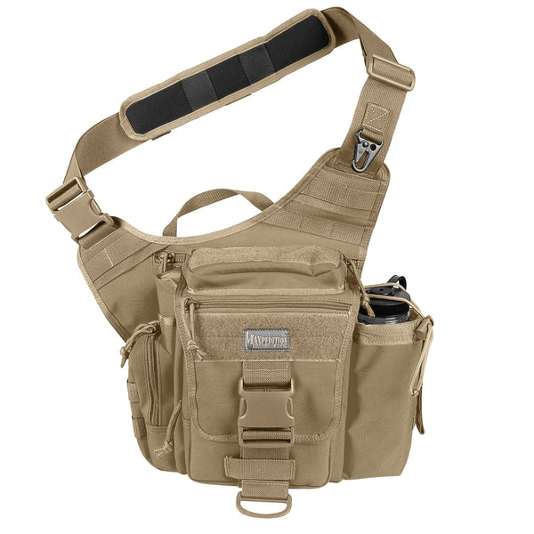 Jumbo S-type VERSIPACK - MAXPEDITION, Shoulder bag, left-side carry, CCW, EDC, Everyday Carry, Travel, Carry-on, Tourist, Adventurer, concealed carry Military, CCW, EDC, Tactical, Everyday Carry, Outdoors, Nature, Hiking, Camping, Police Officer, EMT, Firefighter, Bushcraft, Gear, Travel