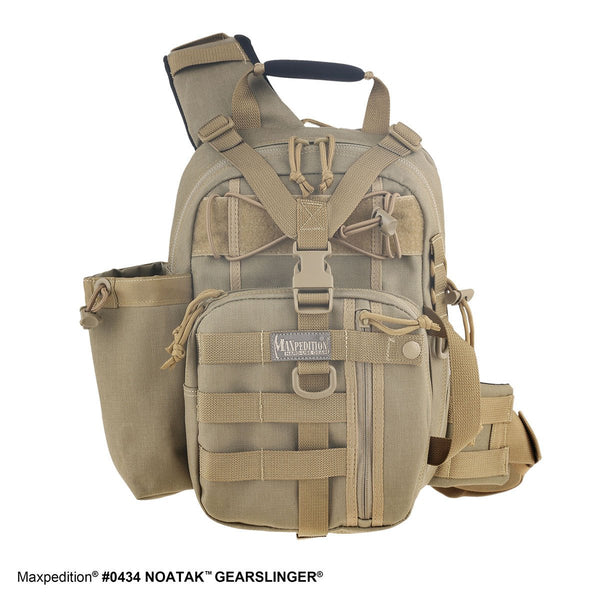 NOATAK GEARSLINGER - MAXPEDITION, Military, CCW, EDC, Everyday Carry, Outdoors, Nature, Hiking, Camping, Police Officer, EMT, Firefighter, Bushcraft, Gear, Travel.