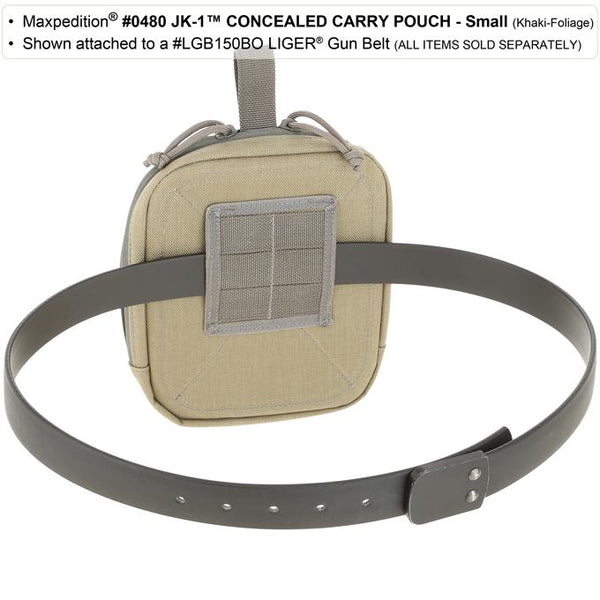 JK-1 Concealed Carry Pouch (Small) - Maxpedition, Discreet, CCW, Quick-access, Tactical Gear, handgun Holder, handgun Carrier, Magazine Holder, Mag carrier