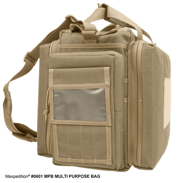 MPB MULTI-PURPOSE BAG -Maxpedition, Military, CCW, EDC, Everyday Carry, Outdoors, Nature, Hiking, Camping, Police Officer, EMT, Firefighter, Bushcraft, Gear, Travel