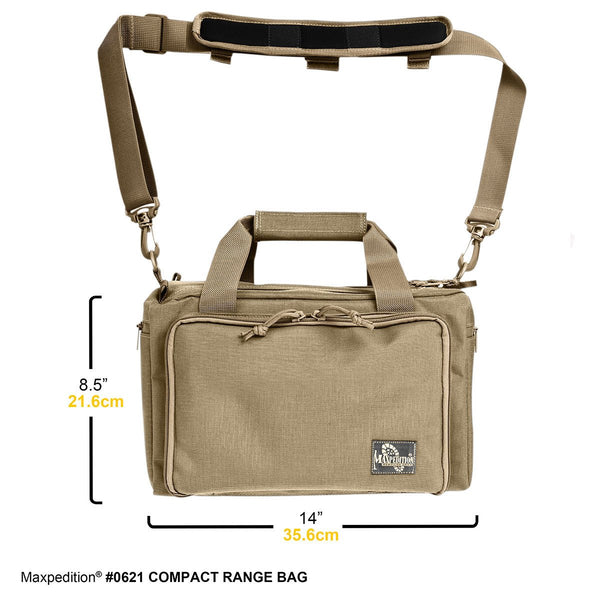 COMPACT RANGE BAG - Military, CCW, EDC, Tactical, Everyday Carry, Outdoors, Nature, Hiking, Camping, Police Officer, EMT, Firefighter, Bushcraft, Gear.