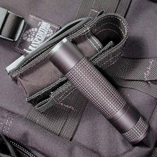 "4"" Flashlight Sheath- Maxpedition, Velcro, Secure, Adjustable, Holder, Tactical, Adventure, Outdoor Gear"