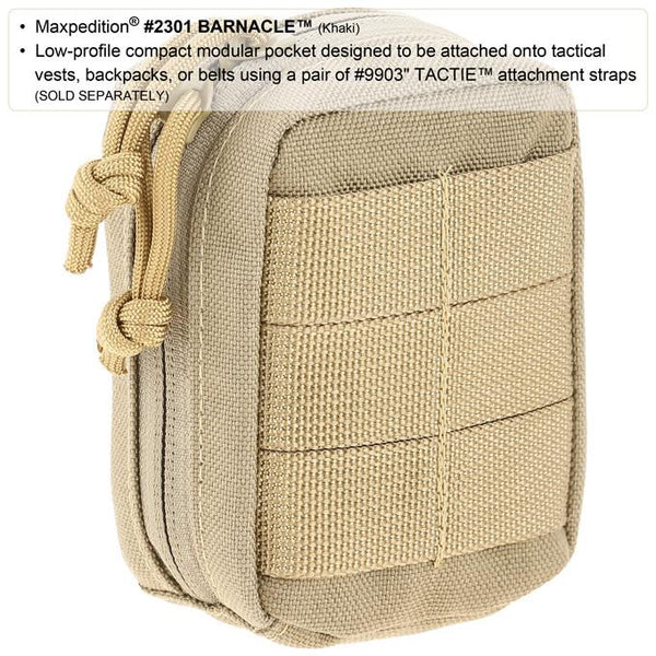 Maxpedition- Barnacle, Tactical, CCW, EDC, Outdoors, Hiking, Camping Accessory