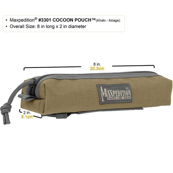 Maxpedition- Cocoon PouchMaxpedition-Military, CCW, EDC, Tactical, Everyday Carry, Outdoors, Nature, Hiking, Camping, Police Officer, EMT, Firefighter,Bushcraft, Gear