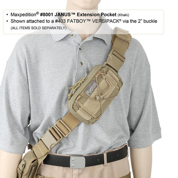 JANUS EXTENSION POCKET - MAXPEDITION