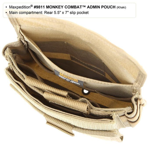 MONKEY COMBAT ADMIN POUCH - MAXPEDITION