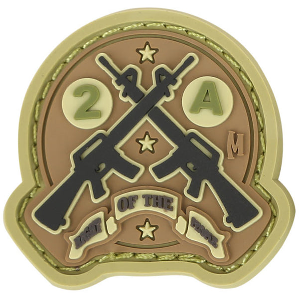 AR15 2A PATCH - MAXPEDITION, Patches, Military, CCW, EDC, Tactical, Everyday Carry, Outdoors, Nature, Hiking, Camping, Bushcraft, Gear, Police Gear, Law Enforcement