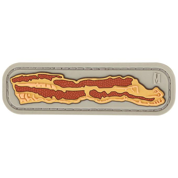 BACON PATCH - MAXPEDITION, Patches, Military, CCW, EDC, Tactical, Everyday Carry, Outdoors, Nature, Hiking, Camping, Bushcraft, Gear, Police Gear, Law Enforcement