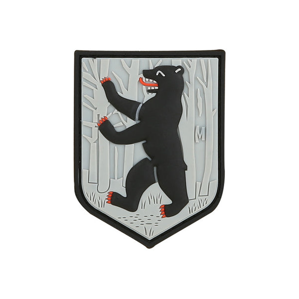 BERLIN BEAR PATCH - MAXPEDITION, Patches, Military, CCW, EDC, Tactical, Everyday Carry, Outdoors, Nature, Hiking, Camping, Bushcraft, Gear, Police Gear, Law Enforcement