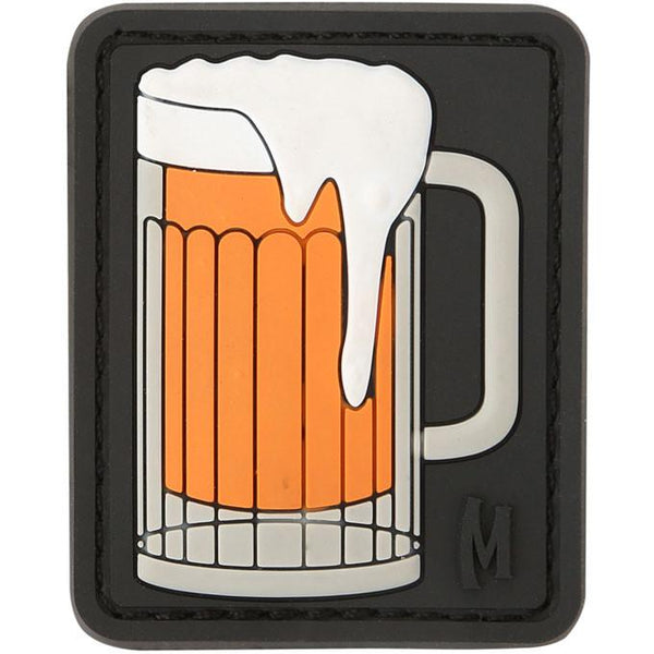 BEER MUG PATCH - MAXPEDITION, Patches, Military, CCW, EDC, Tactical, Everyday Carry, Outdoors, Nature, Hiking, Camping, Bushcraft, Gear, Police Gear, Law Enforcement