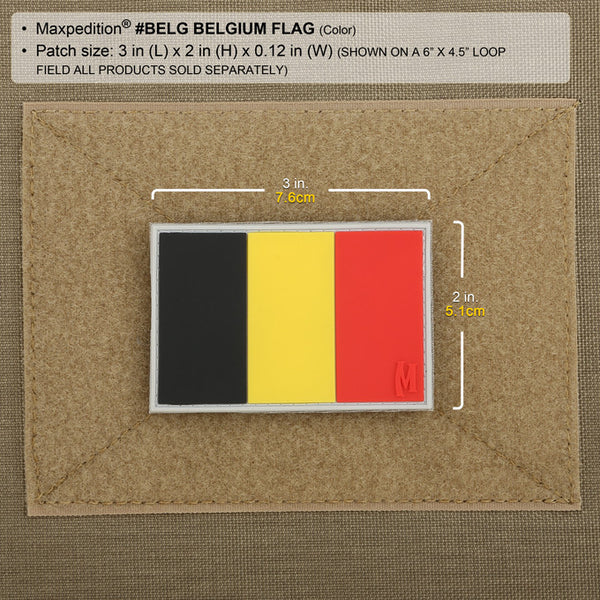 Belgium Flag Morale Patch