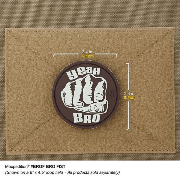 BRO FIRST PATCH - MAXPEDITION,Patches, Military, CCW, EDC, Tactical, Everyday Carry, Outdoors, Nature, Hiking, Camping, Bushcraft, Gear, Police Gear, Law Enforcement
