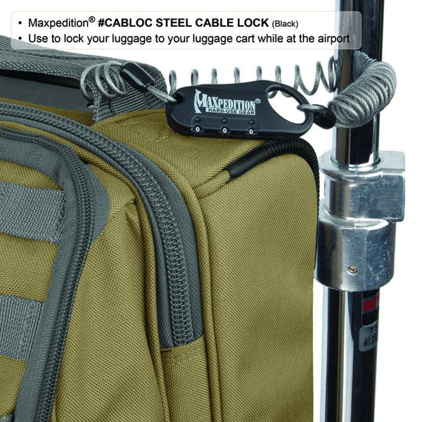 STEEL CABLE LOCK - MAXPEDITION