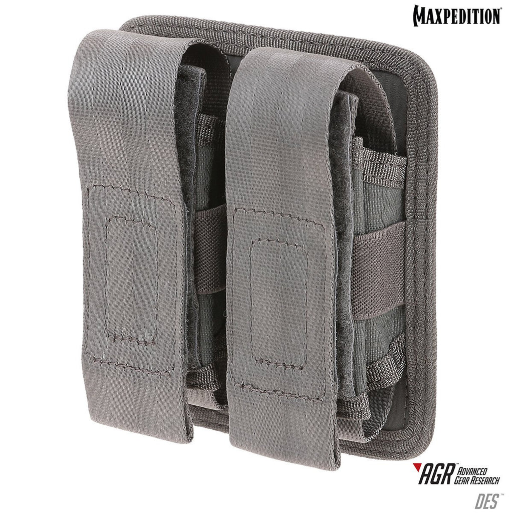 DES DOUBLE SHEATH POUCH - Gray