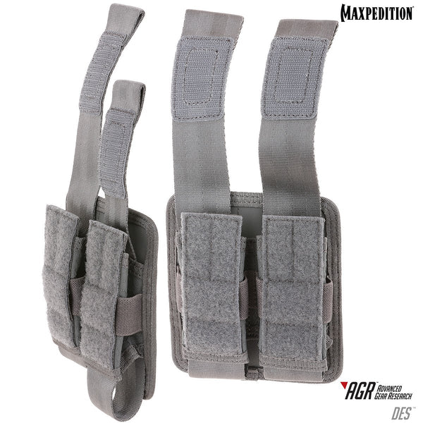 DES DOUBLE SHEATH POUCH - Maxpedition, Military, CCW, EDC, Tactical, Everyday Carry, Outdoors, Nature, Hiking, Camping, Police Officer, EMT, Firefighter, Bushcraft, Gear.