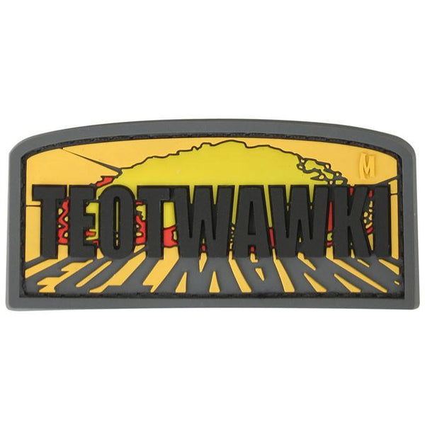 TEOTWAWKI PATCH - MAXPEDITION, Patches, Military, CCW, EDC, Tactical, Everyday Carry, Outdoors, Hiking, Camping, Bushcraft, Gear, Police Gear, Law Enforcement